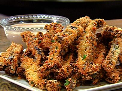 fried portabella mushrooms