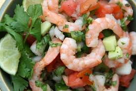 shrimp pico de gallo