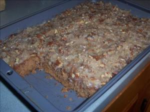oatmeal cake with topping