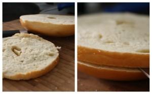 bagel slices