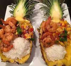 shrimp-stuffed-pineapple