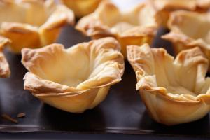 phyllo dough baked