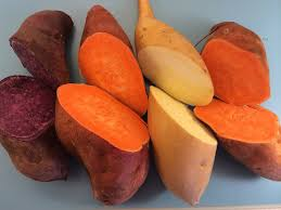 yams not sweet potatoes